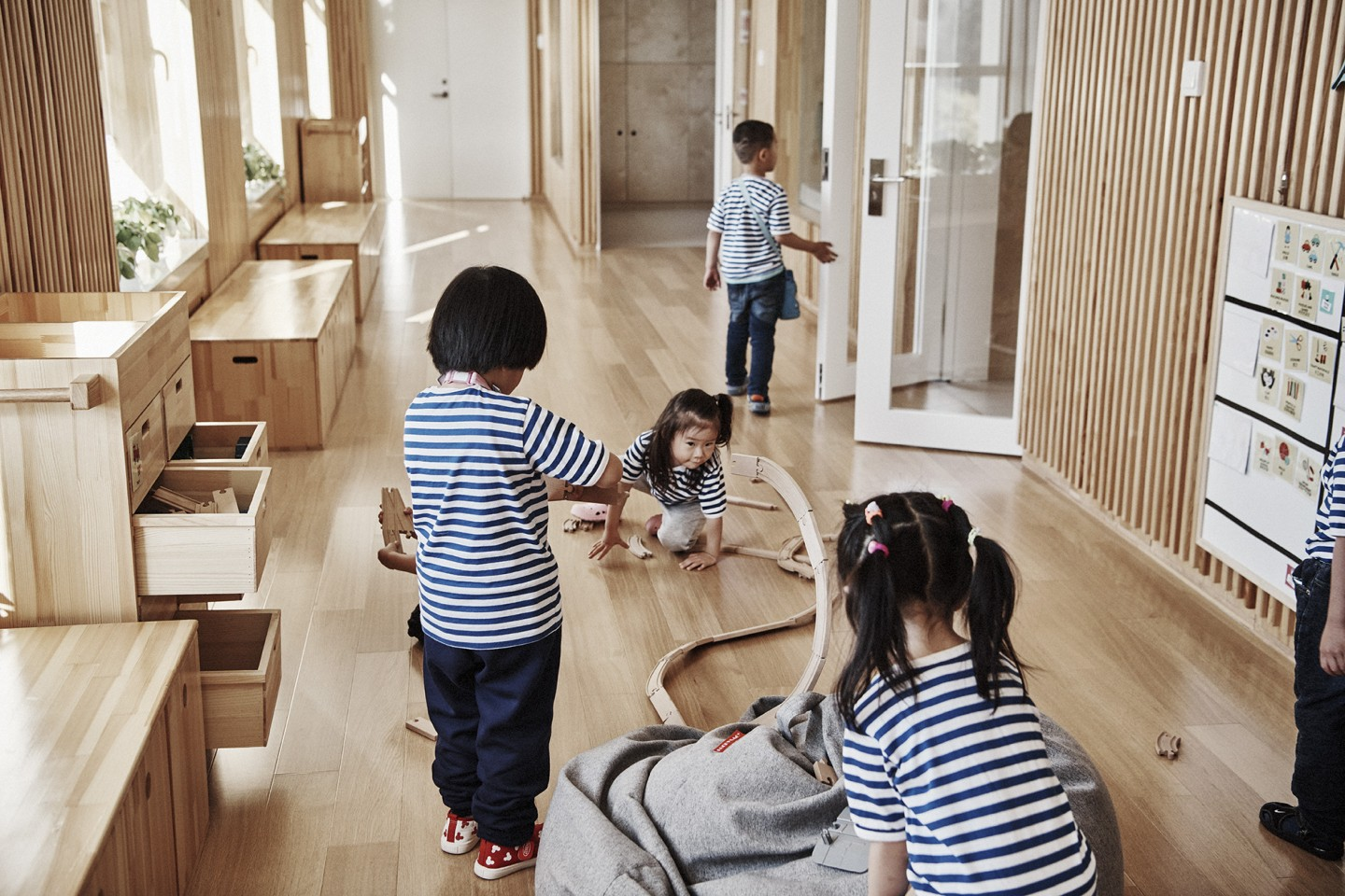 HEI Schools children playing together